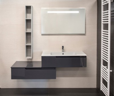 OUTLET  Mobile bagno antracite